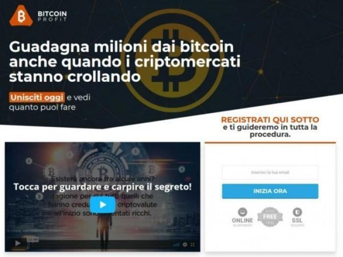 Bitcoin Profit truffa? Come funziona, opinioni e commenti