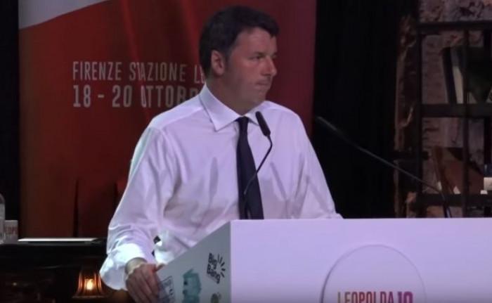 Il giorno del riscatto di Matteo Renzi, per la prima volta alla Leopolda senza il Pd