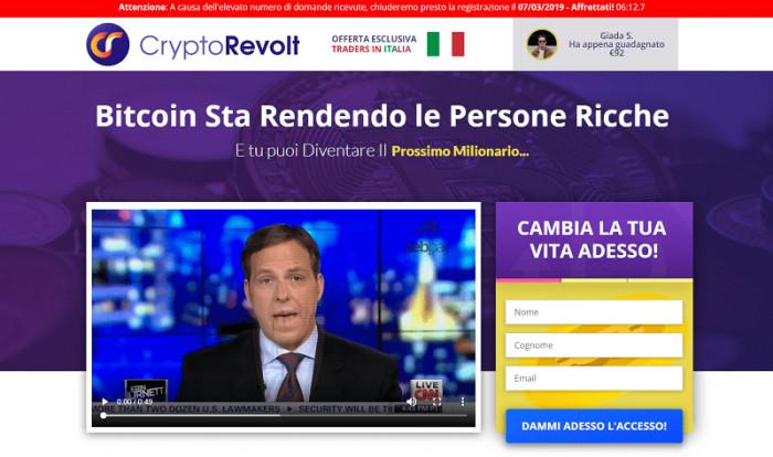 Crypto Revolt truffa? Recensioni e opinioni