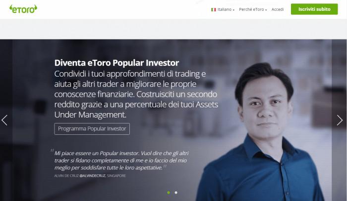 Diventare Popular Investor eToro e aumentare il numero dei copiatori e i guadagni