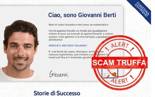 Metodo italiano di Giovanni Berti truffa? Opinioni - Recensioni