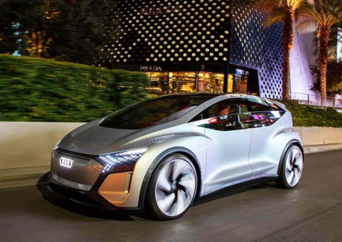 Audi AI:ME la nuova concept car a guida autonoma presentata a Las Vegas