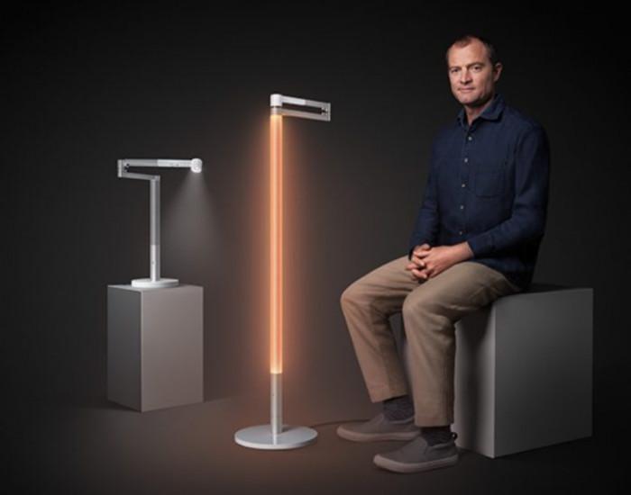 Dyson presenta la lampada che ricrea la luce naturale