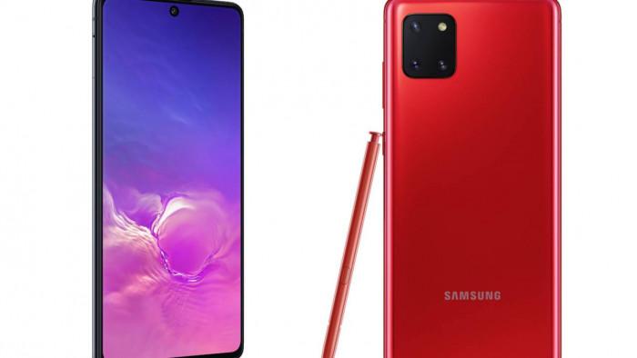 Samsung Galaxy S10 Lite e Note 10 Lite: finalmente arrivati. Grande batteria e grande display