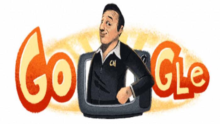 Il doodle di Google in onore di Roberto Gómez Bolaños. Era famoso anche in Italia