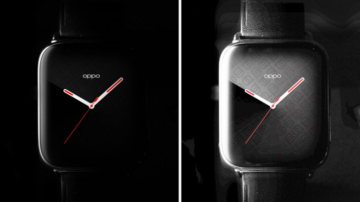 Oppo Watch quasi uguale ad Apple Watch ma con vetro più curvo