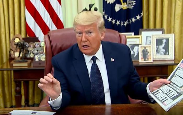Trump su Twitter annuncia di essere pronto a far intervenire l'esercito ma il social oscura il post