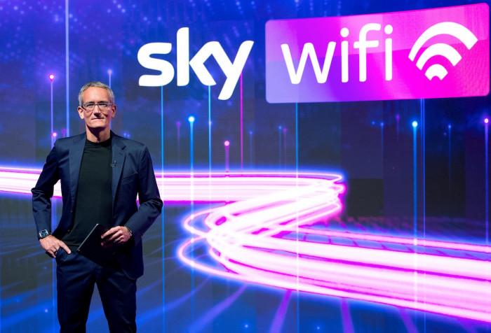 Sky Wi-Fi: arriva la linea internet per casa