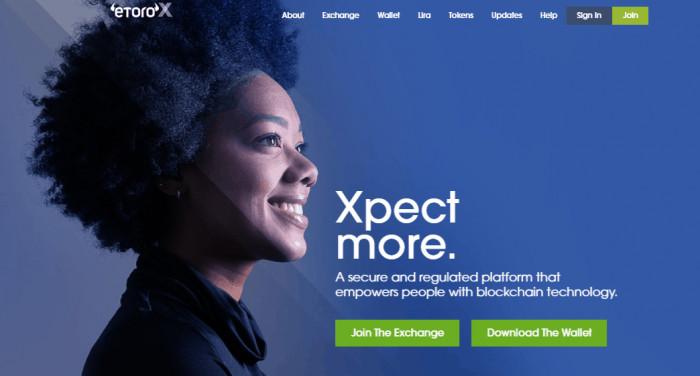 Exchange criptovalute: eToroX lancia modello a commissioni invertite