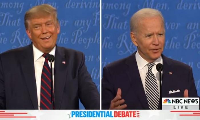 Il confronto Tv Trump - Biden tra insulti e attacchi personali scoraggia i mercati