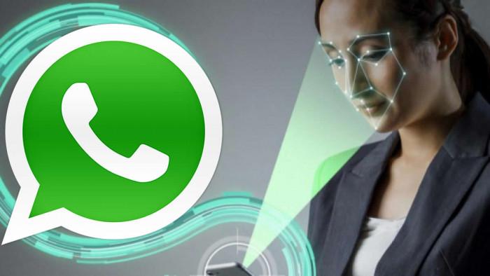 WhatsApp: sblocco con riconoscimento facciale