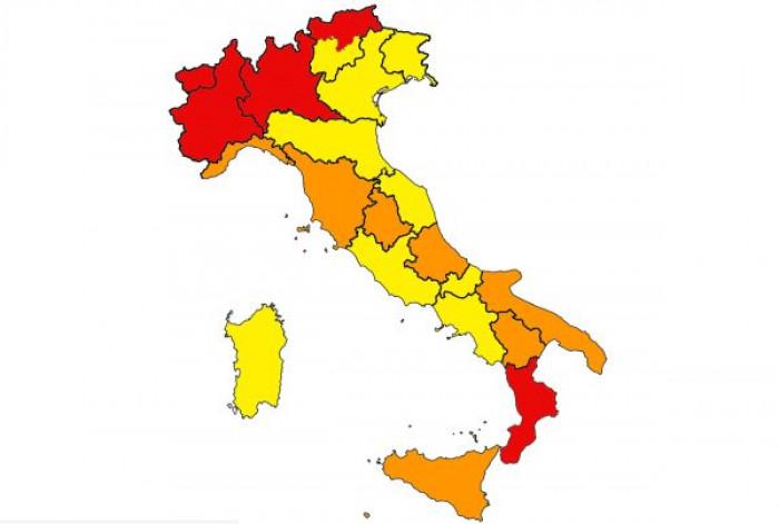 Coronavirus Italia: 5 nuove regioni in zona arancione: Basilicata, Abruzzo, Umbria, Toscana e Liguria