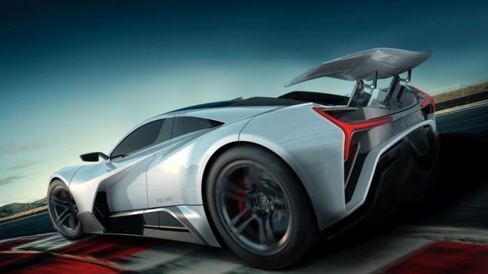 Freedom, la nuova supercar elettrica che sfida Tesla