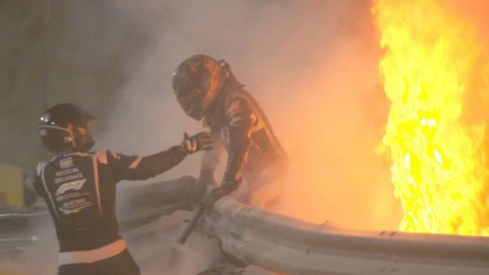 Halo ha davvero salvato la vita di Grosjean?Sì ma non è stato il solo