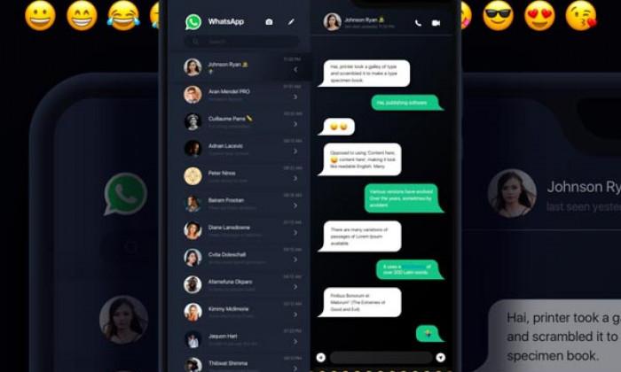 WhatsApp: arriva il tema verde scuro