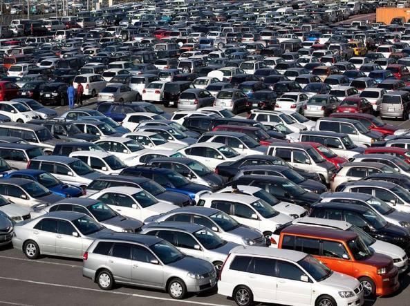 Mercato auto usate in sofferenza
