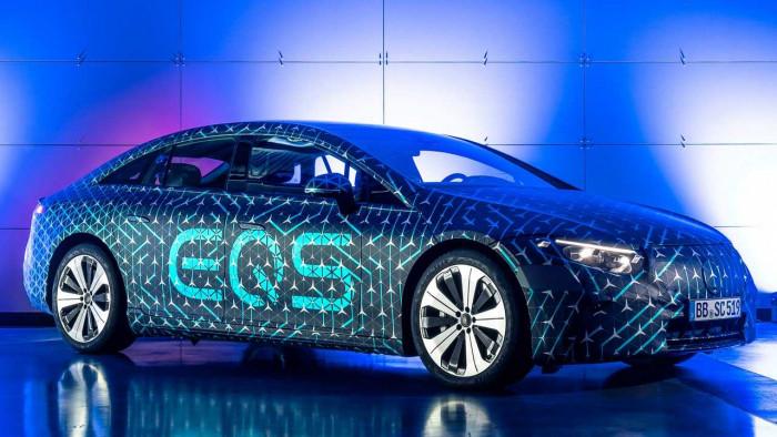 Mercedes EQS: l'elettrica di lusso