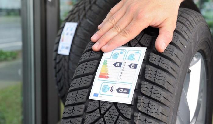 Nuove etichette per gli pneumatici auto