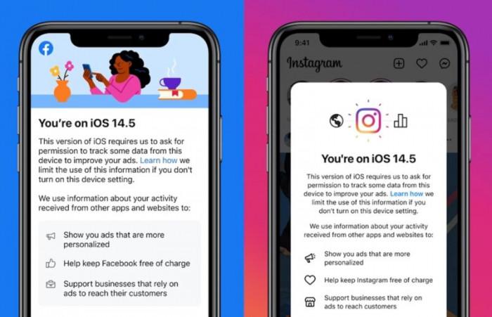 Con iOS 14.5 Facebook e Instagram a pagamento? Vediamo perchè
