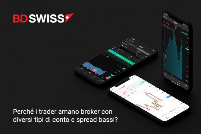 Perché i trader amano broker con diversi tipi di conto e spread bassi?